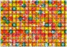 Fond sale lumineux abstrait de cercles Photo libre de droits