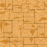 Fond sale simple de texture de surface de modèle de mur de briques de roche de coquille illustration de vecteur