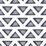 Fond sans couture abstrait avec des triangles Photographie stock