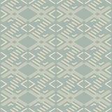 Fond sans couture antique Diamond Check Cross Geometry Frame illustration libre de droits
