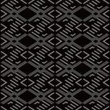 Fond sans couture antique Diamond Check Cross Geometry Frame illustration de vecteur