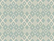 Fond sans couture antique Diamond Check Cross Rhomb Geometry illustration libre de droits