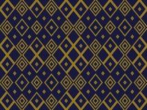 Fond sans couture antique Diamond Check Cross Rhomb Geometry illustration stock