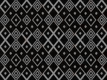 Fond sans couture antique Diamond Check Cross Rhomb Geometry illustration de vecteur