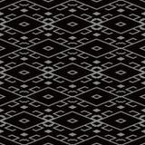Fond sans couture antique Diamond Check Cross Tracery Frame illustration libre de droits