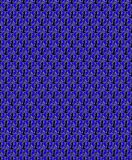 Fond sans couture avec des ancres flottantes dans une obscurité - couleurs de mer Illustration de Vecteur