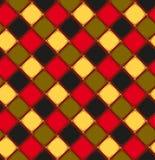 Fond sans couture avec des losanges dans de rétros couleurs Illustration Libre de Droits