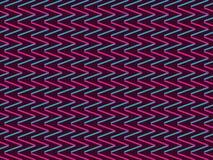Fond sans couture avec des zigzags dans le style de 90s Fond géométrique Vecteur Photos libres de droits