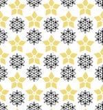 Fond sans couture avec la fleur décorative Illustration de vecteur illustration libre de droits