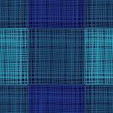 Fond sans couture avec le modèle géométrique abstrait Texture grunge Broderie sur le tissu Texture de griffonnage Photographie stock libre de droits