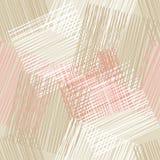 Fond sans couture avec le modèle géométrique abstrait Texture grunge Broderie sur le tissu Texture de griffonnage Image libre de droits