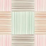 Fond sans couture avec le modèle géométrique abstrait Texture grunge Broderie sur le tissu Texture de griffonnage Photo stock