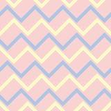 Fond sans couture avec le modèle géométrique coloré Éléments roses, bleus et beiges Images stock