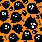 Fond sans couture avec les fantômes 5 Image stock