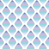 Fond sans couture avec les losanges bleus illustration de vecteur