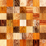 Fond sans couture avec les modèles en bois Image libre de droits