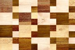 Fond sans couture avec les modèles en bois Image stock