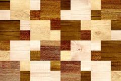 Fond sans couture avec les modèles en bois Photo libre de droits