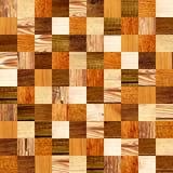 Fond sans couture avec les modèles en bois Photographie stock