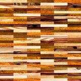 Fond sans couture avec les modèles en bois Photos stock