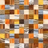 Fond sans couture avec les modèles en bois Photographie stock libre de droits