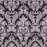 Fond sans couture baroque de dentelle de vintage illustration stock