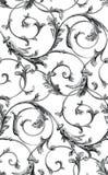 Fond sans couture classique de mod?le de vecteur Ornement classique démodé de luxe classique, texture sans couture victorian roya illustration libre de droits