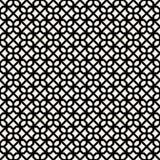 Fond sans couture décoratif monochrome de modèle de vecteur de conception Photos libres de droits