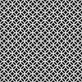Fond sans couture décoratif monochrome de modèle de vecteur de conception Images libres de droits