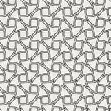 Fond sans couture d'art déco abstrait Modèle géométrique d'échelle de poissons illustration libre de droits