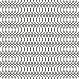 Fond sans couture d'Art Deco Tracery Trellis Pattern Illustration Libre de Droits