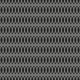 Fond sans couture d'Art Deco Tracery Trellis Pattern Illustration de Vecteur