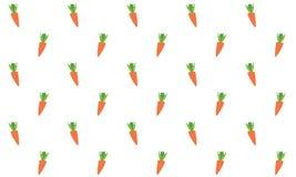 Fond sans couture de carottes Photo stock