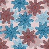 fond sans couture de fleur Photo stock