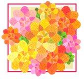 fond sans couture de fleur Image libre de droits
