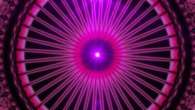 Fond sans couture de mandala de kaléidoscope clips vidéos