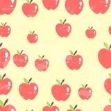 Fond sans couture de modèle d'Apple, illustration de vecteur illustration libre de droits