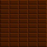 Fond sans couture de modèle de chocolat Photos stock