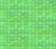 Fond sans couture de modèle de coeurs verts riches illustration stock