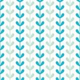 Fond sans couture de modèle de feuilles abstraites de vignes illustration de vecteur