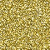 Fond sans couture de modèle de scintillement d'or Photographie stock libre de droits