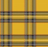 Fond sans couture de modèle de vecteur de plaid de tartan avec le texte de tissu Photographie stock libre de droits