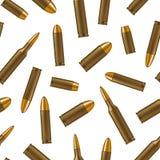 Fond sans couture de modèle des balles 3d détaillées réalistes Vecteur Images libres de droits