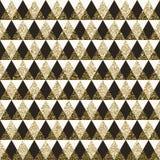 Fond sans couture de modèle géométrique Images libres de droits