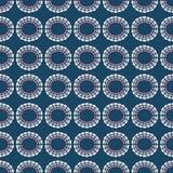 Fond sans couture de modèle de répétition de cercles d'arc-en-ciel de vecteur illustration de vecteur
