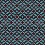 Fond sans couture de modèle de vecteur tribal illustration stock
