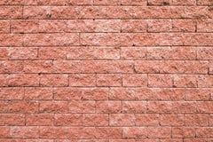 Fond sans couture de mur de briques rouge Photo stock