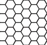 Fond sans couture de nid d'abeilles abstrait illustration de vecteur