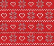 Fond sans couture de Noël et d'hiver Photo libre de droits