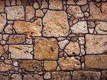 Fond sans couture de pierre de roche Photographie stock